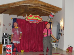 Clown-Fun im Grecoland