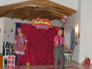 Clown-Fun im Grecoland