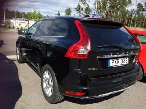 Unser Mietwagen, ein Volvo XC60 4WD