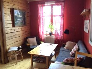 Herziges Wohnzimmer bei Ewa in Svenljunga