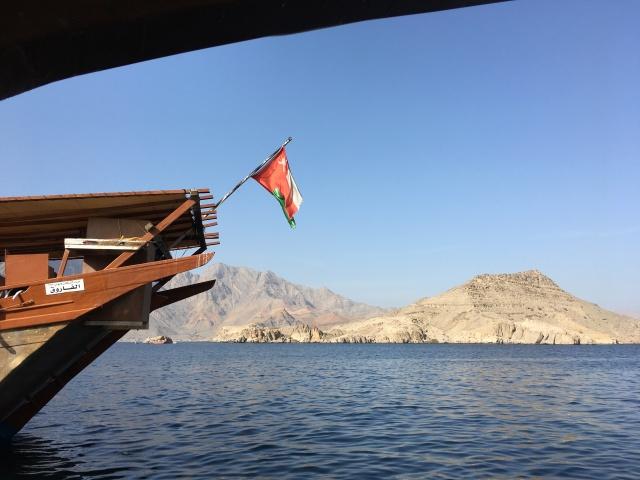 In den Fjorden bei Kasbah, Oman