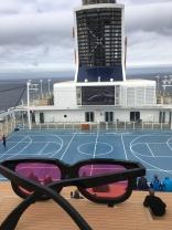 Kunst auf der Mein Schiff 4 / Blick auf die Arena