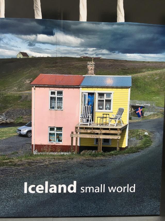 Werbung für Island