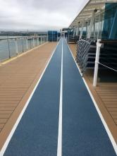 Joggingtrack auf der Mein Schiff 4
