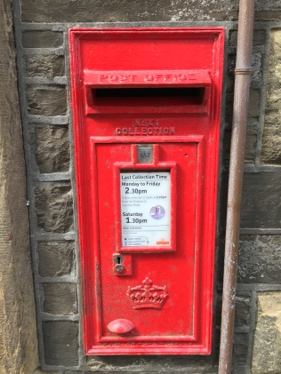 Schottischer Briefkasten in Kirkwall