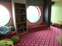 Baby-Nest auf der Mein Schiff 4