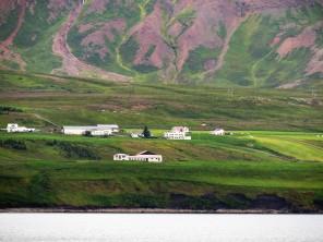 Einfahrt Akureyri