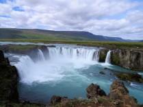 Godafoss-Wasserfall im Norden Islands