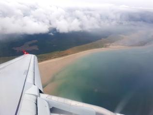 Anflug auf Inverness