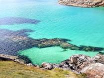 Die Karibikbucht bei Achmelvich Bay