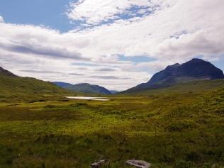 Landschaft zwischen Lochewe und Torridon