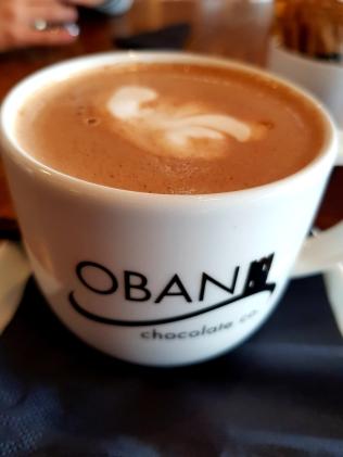Mega feine vegane Schokolade mit Kokosmilch von Oban Chocolate Co.