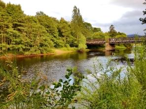 Beim Old Bridge Inn / Garten